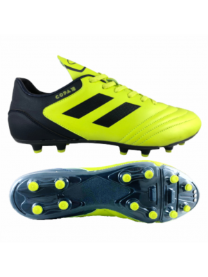 Premier Copa Soccer Boot (Adults/Youths) - Neon Yellow/Navy