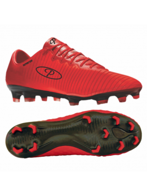Premier Deportivo Soccer Boot (Adults/Youths) - Red/Black