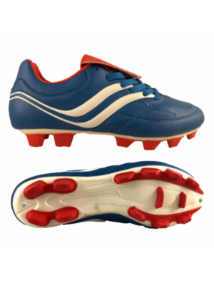 Premier Precision Soccer Boot (Adults) - Blue/White/Red
